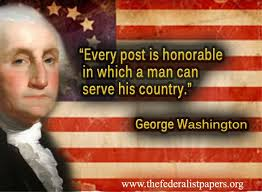 washington service to country