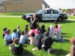 officer at school
