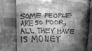 poor is rich